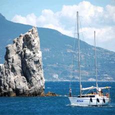 Крым, яхта